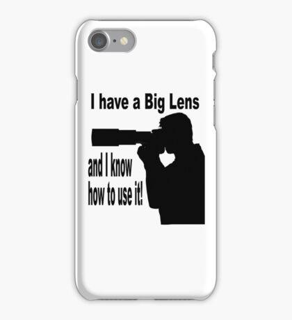 Big Lens iPhone Case/Skin
