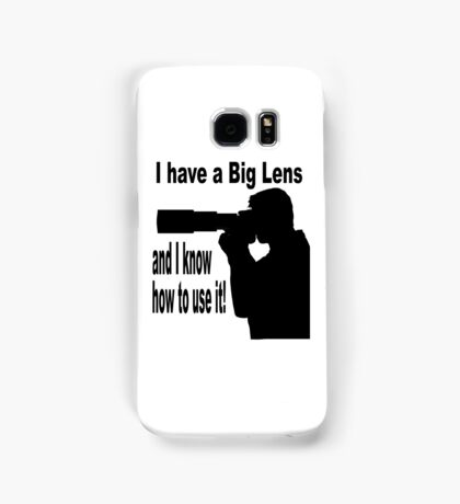 Big Lens Samsung Galaxy Case/Skin