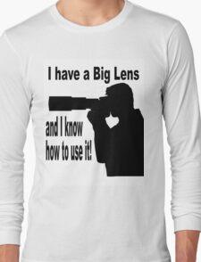 Big Lens Long Sleeve T-Shirt