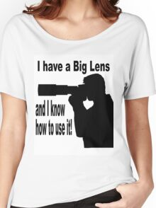 Big Lens Women's Relaxed Fit T-Shirt