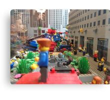 Lego in New York Canvas Print
