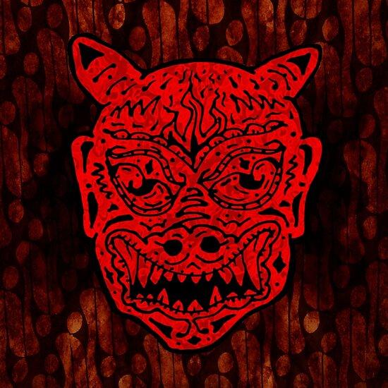 Handsome Devil Mask #1 by ellejayerose