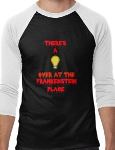 There's a Light (T-Shirt & Sticker) Men's Baseball ¾ T-Shirt