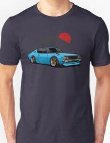 Nissan Skyline GTR Kenmeri (blue) Unisex T-Shirt