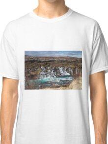 Bjarnafoss waterfall Classic T-Shirt