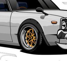 Nissan Skyline GTR Kenmeri (white) Sticker