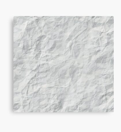 Broke Paper Canvas Print