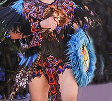 Aztec Dancer by heatherfriedman