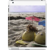 Australian Beach Potatoes iPad Case/Skin
