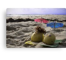 Australian Beach Potatoes Canvas Print