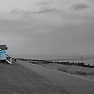 Whitstable in the Rain 3 by Tracy Duckett