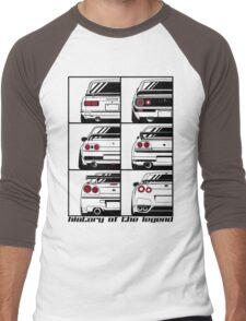 Nissan Skyline. History Men's Baseball ¾ T-Shirt