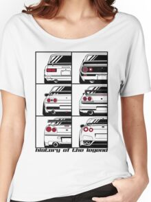 Nissan Skyline. History Women's Relaxed Fit T-Shirt