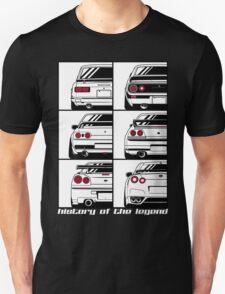 Nissan Skyline. History T-Shirt