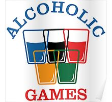 Alcoholic Games Poster