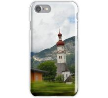Alp Train iPhone Case/Skin