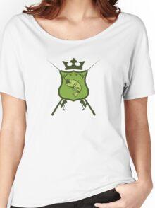 Fisherman's heraldic shield Women's Relaxed Fit T-Shirt