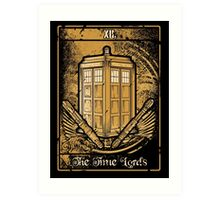 The Time Lords Art Print