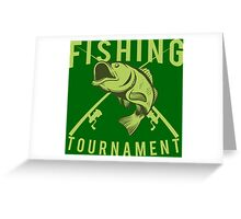 Fisher Tournament Greeting Card