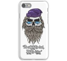 Dumbledore - Pity the Living iPhone Case/Skin