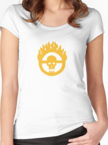 Mad Max - Fury Road Skull Women's Fitted Scoop T-Shirt
