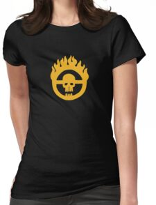 Mad Max - Fury Road Skull Womens Fitted T-Shirt