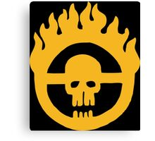 Mad Max - Fury Road Skull Canvas Print