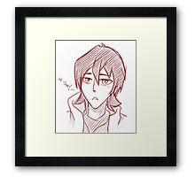 Vol-Tron? Keith Framed Print