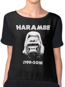 HARAMBE 1999 - 2016 Chiffon Top