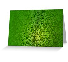 Green Background - Stained Glass Texture Greeting Card