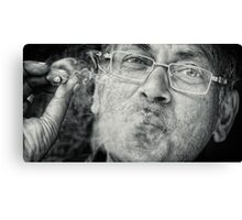 When Smoke Gets into my Lens Canvas Print