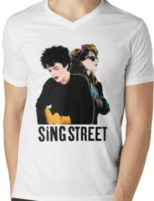 Sing Street Mens V-Neck T-Shirt