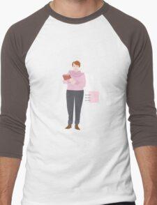 BARB / STRANGER THINGS Men's Baseball ¾ T-Shirt