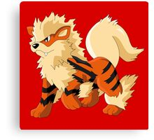 Pokemon Go Arcanine (T-Shirts, Phone cases and more) Canvas Print