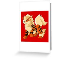 Pokemon Go Arcanine (T-Shirts, Phone cases and more) Greeting Card
