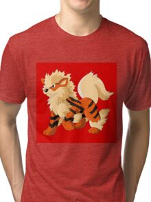 Pokemon Go Arcanine (T-Shirts, Phone cases and more) Tri-blend T-Shirt