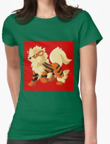 Pokemon Go Arcanine (T-Shirts, Phone cases and more) Womens Fitted T-Shirt