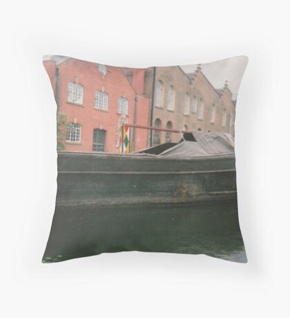 1945 canal Throw Pillow