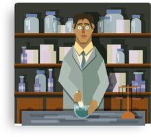 Chemist Canvas Print