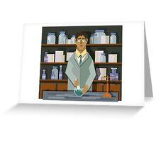 Chemist Greeting Card