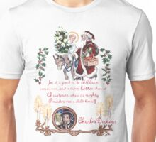 Dickens and Christmas Unisex T-Shirt