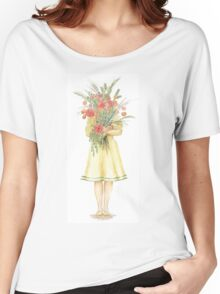 Armfulls of Flowers Women's Relaxed Fit T-Shirt