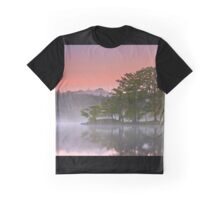 Misty Morning Hues Graphic T-Shirt