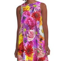 flower bed A-Line Dress
