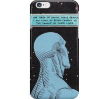 Dr. Manhattan // Watchmen iPhone Case/Skin