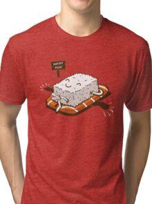 NUDIST FOOD Tri-blend T-Shirt