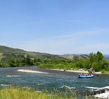 Rafting on Snake River by phillipcmiller