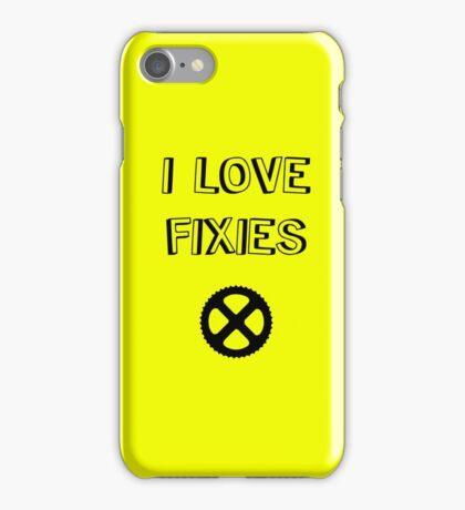 I love FIXIES iPhone Case/Skin