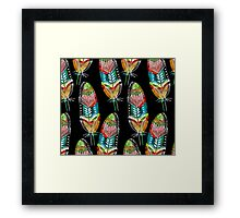 Feathers With A Spirit Framed Print