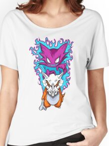 The Haunting -  Cubone & Haunter Fanart Women's Relaxed Fit T-Shirt